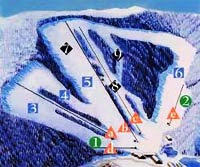 The Ski resort at the Appalachian Mountain Resort