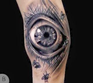 Modelos de tattoos com olhos