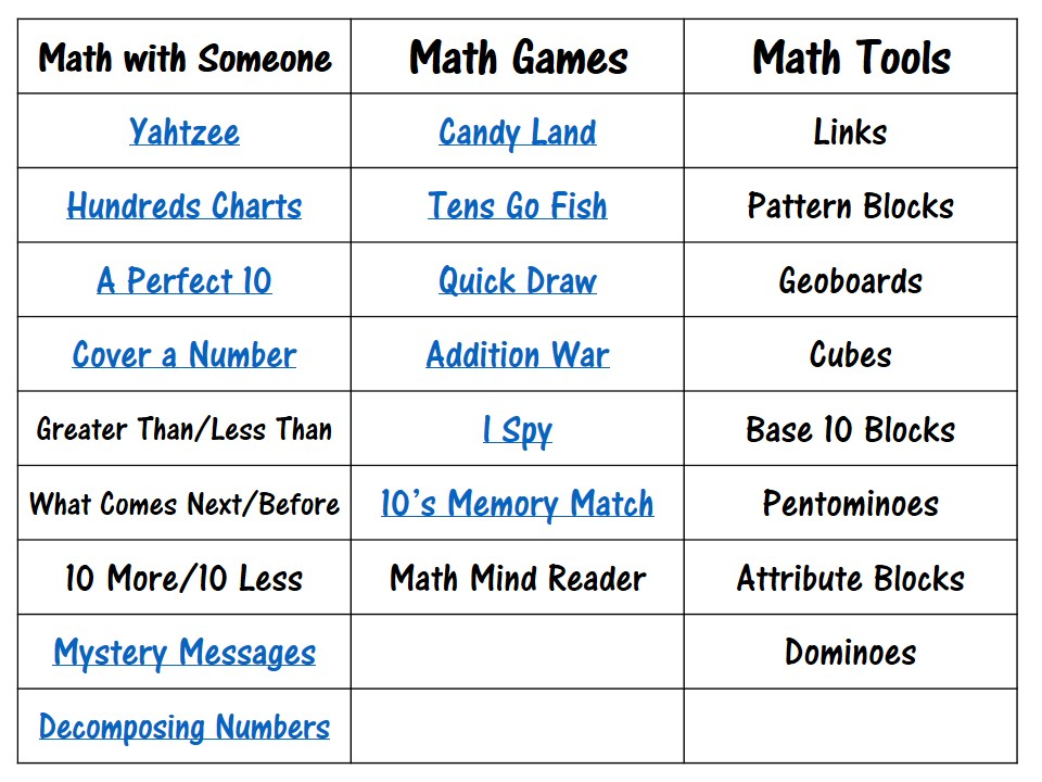 The Very Busy First Graders: Math Daily 5 & 2 \