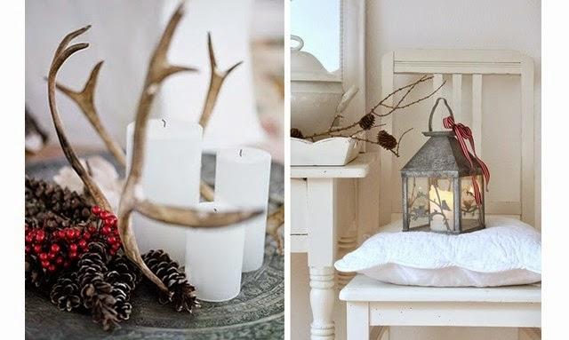 Como conseguir una decoración navideña de estilo nórdico