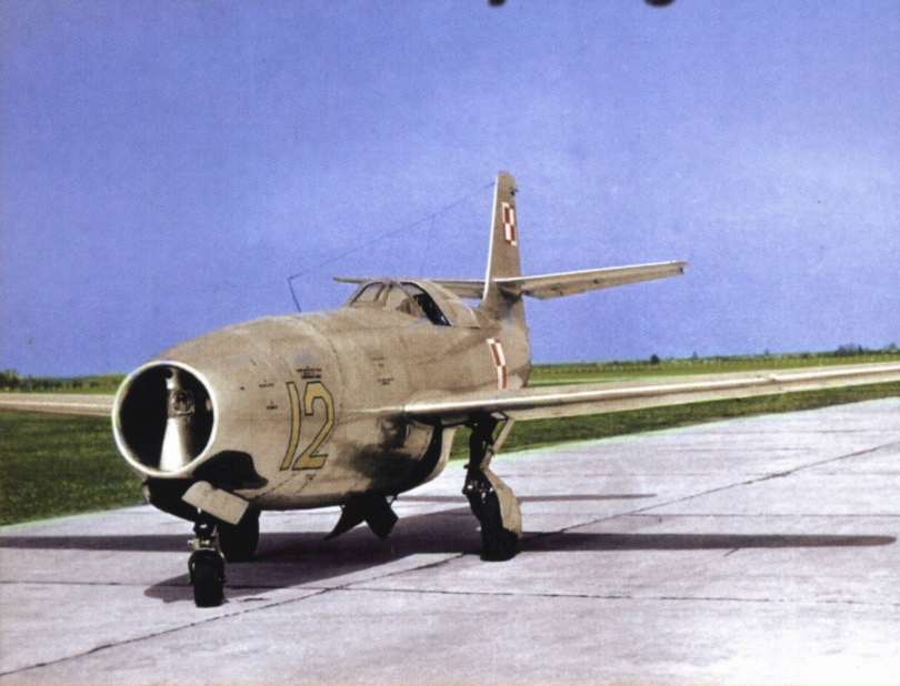 YAKOVLEV - avioni konstruktora Jakovljeva Yak-23+(Flora)+15