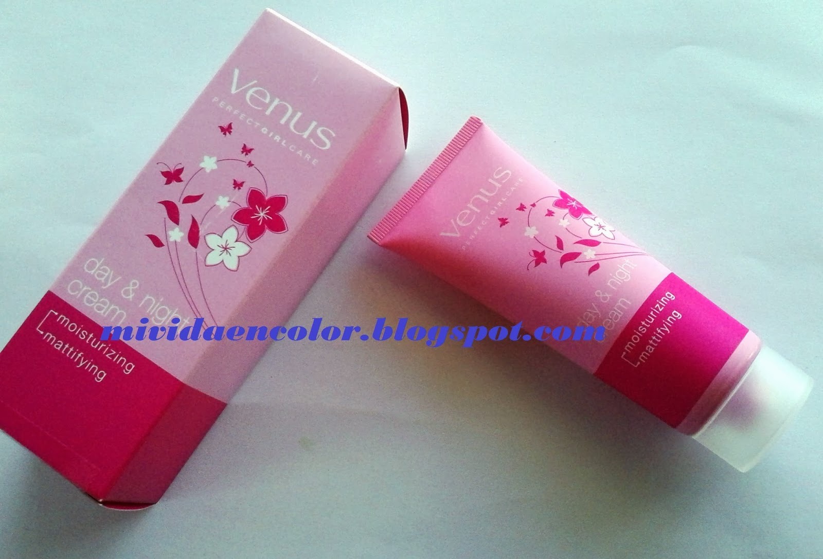 reseña review Day & night cream de Venus
