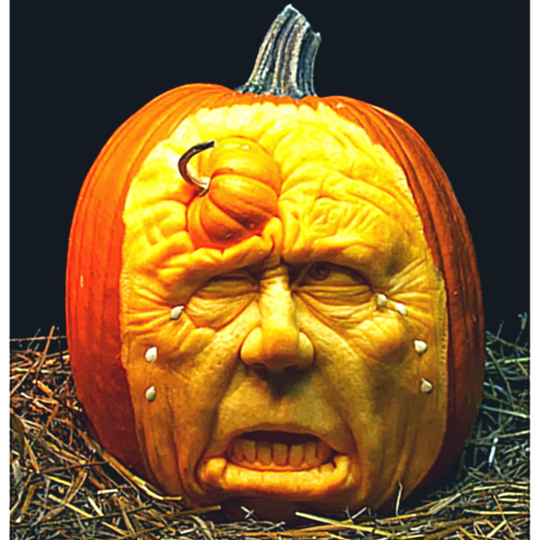 Healing With Herbs Pumpkin Art Ray Villafane