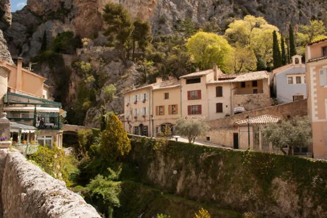 Moustiers-Sainte-Marie - Alpes-de-Haute-Provence - France