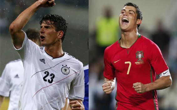 Mario Gomez vs Christiano Ronaldo