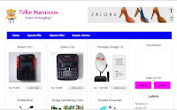 Download Gratis Template Toko Online Blogspot