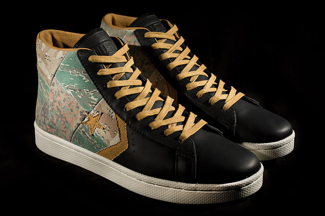 Stussy New York X Converse Pro Leather