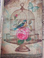 Vintage Birdhouse Sweets