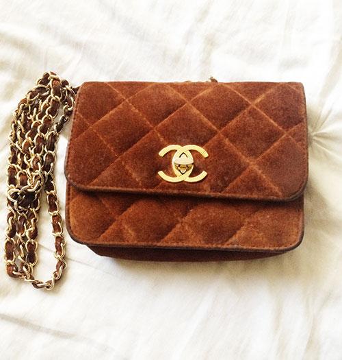 vintage chanel waist bag