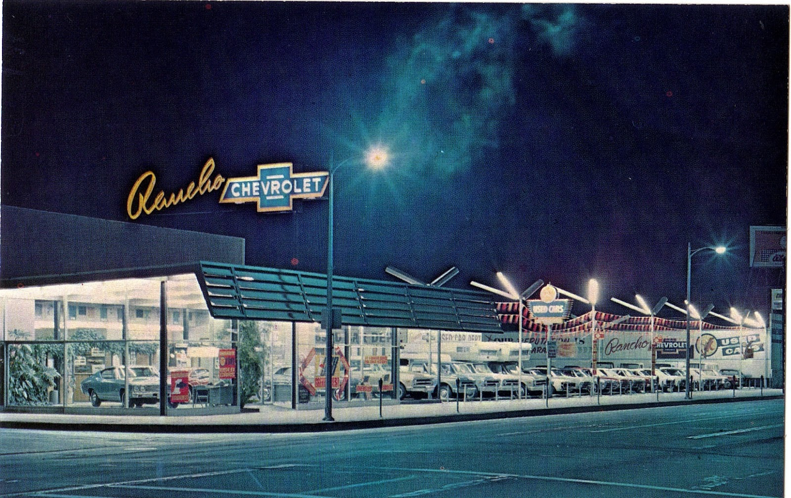 Rancho Chevrolet in Reseda Postcard | San Fernando Valley Blog