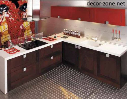 Small kitchen design ideas japanese kitchen designs for Japanese kitchen designs
