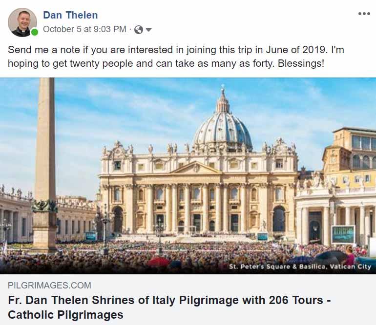 ROME TRIP - JUNE 2019