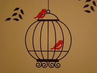 Blogger Review Birds And Birdcages Decal In The Kitchen