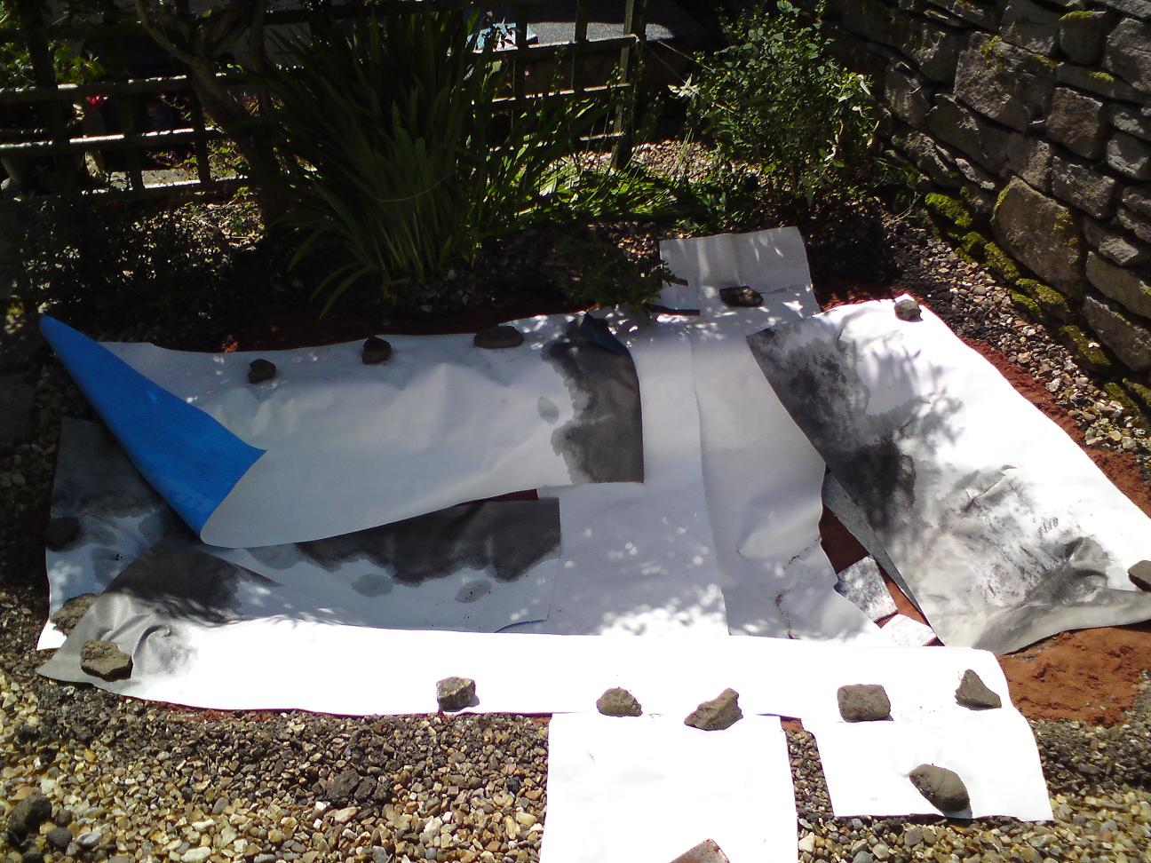 The poorest company building a wildlife pond part 3 for Pond liner calculator
