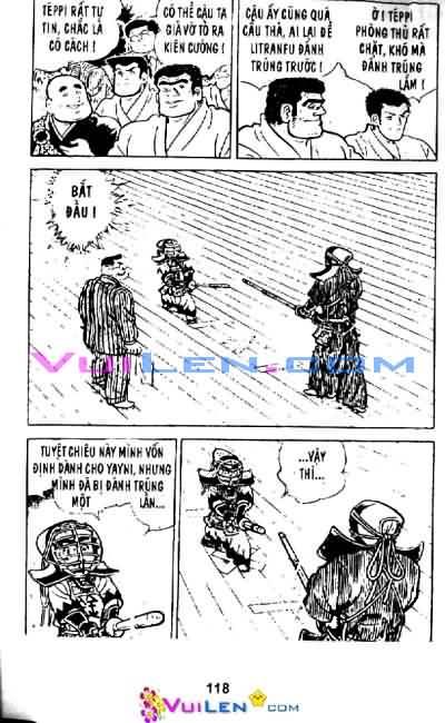 Siêu quậy Teppi chap 33 - Trang 115