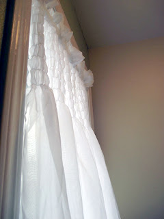 Shirred Curtain Tutorial