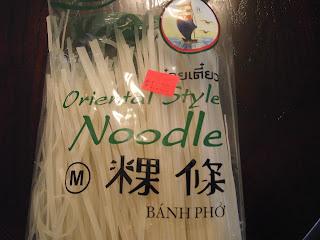 bahn pho noodles