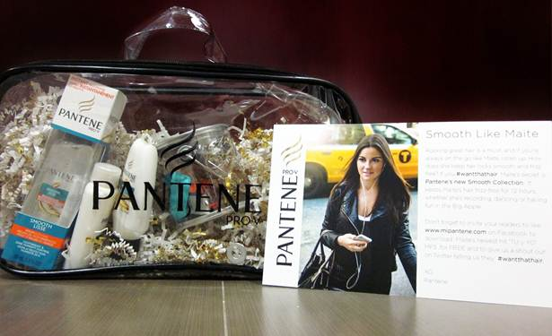 Pantene Smooth Collection #WantThatHair Giveaway!
