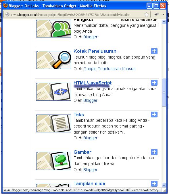 Cara Memasang Daftar Isi Posting Pada Sidebar Wordpress: Memasang Monyet Di Blog