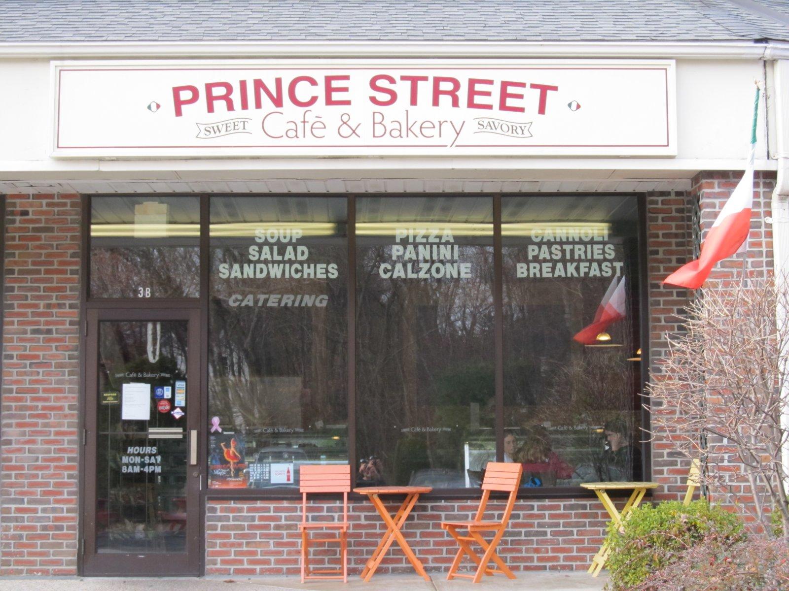 Prince Street Cafe Bedford Ma