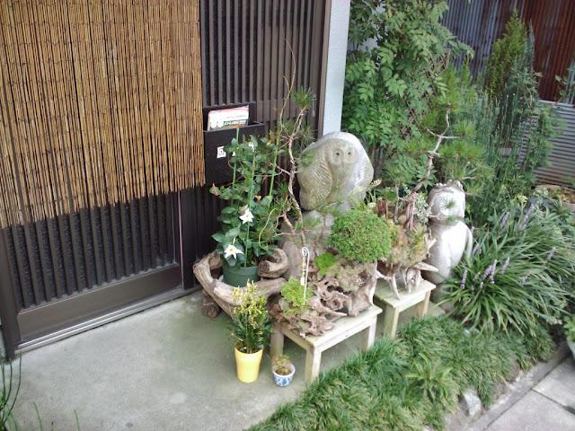 I See Japanom La Front Door Mini Garden