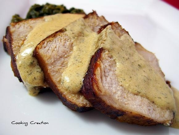 Pork loin cream sauce recipes