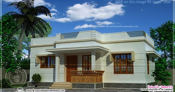 Affordable kerala style house in 650 sq ft kerala home for 650 sq ft house plan in tamilnadu