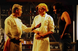 Presentan obra de teatro la cocina for Teatro la cocina