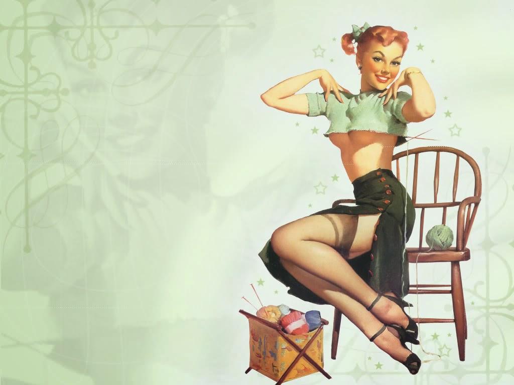 de chicas sexy vintage fondos de escritorio wallpapers gratis de