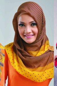 Elzatta Kaila Lavery - Coklat Tua Kombinasi (Toko Jilbab dan Busana Muslimah Terbaru)