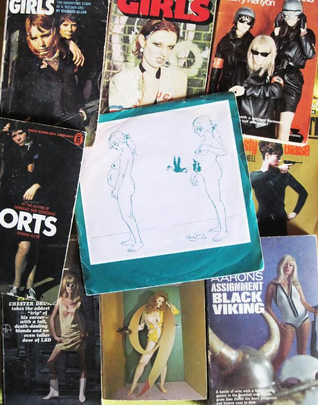 Vermilion and The Aces - The letter - 1979 Illegal records punk Menace e