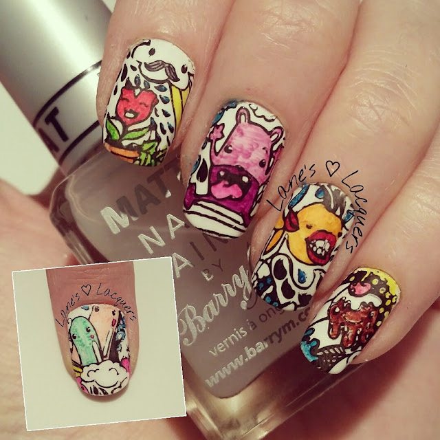 40-great-nail-art-ideas-hobbies-colouring-in-nail-art (2)
