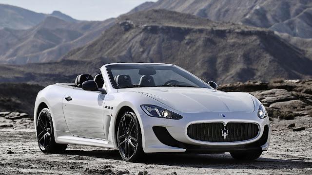 Maserati GranCabrio MC front