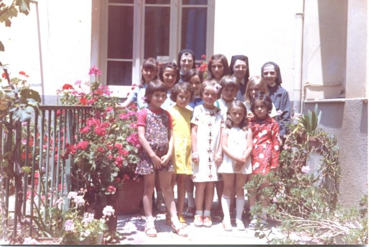 Sr Dominique, Renée, Olivia, Corina R., Anca, Victoria si Iudit (Ungaria), Ruxandra, Monica ...