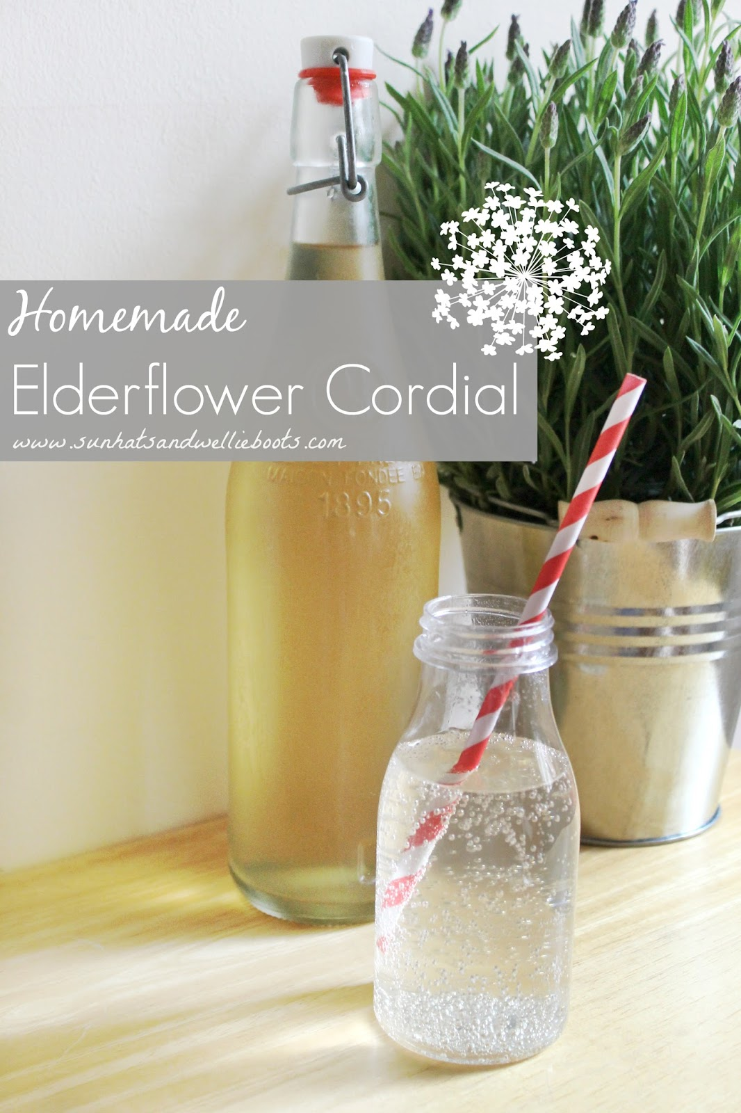 Sun Hats & Wellie Boots: Homemade Elderflower Cordial
