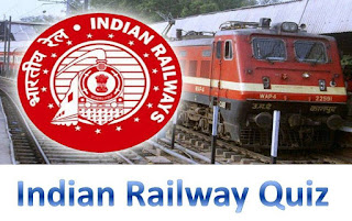 Indian Railway Quiz :: Online Practice Question For ASM, TT, Goods Guard Exam - 2016