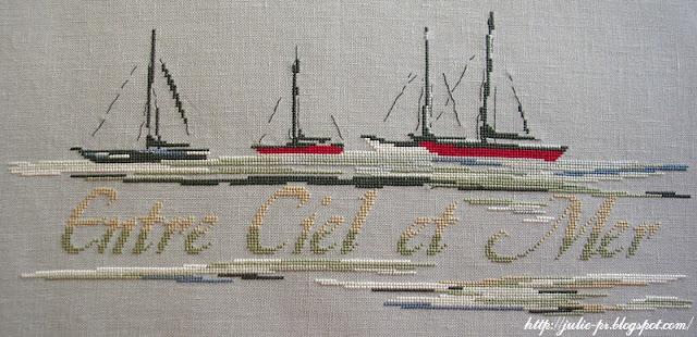 Isabelle Vautier, Entre Ciel et Mer, Port 18, Изабель Вотье, Между небом и морем