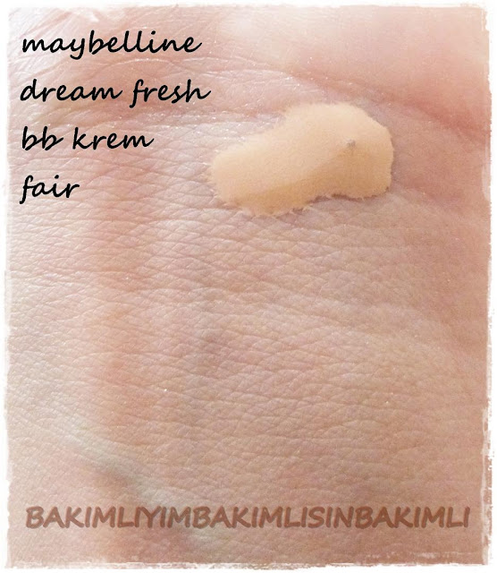 maybelline bb krem fair