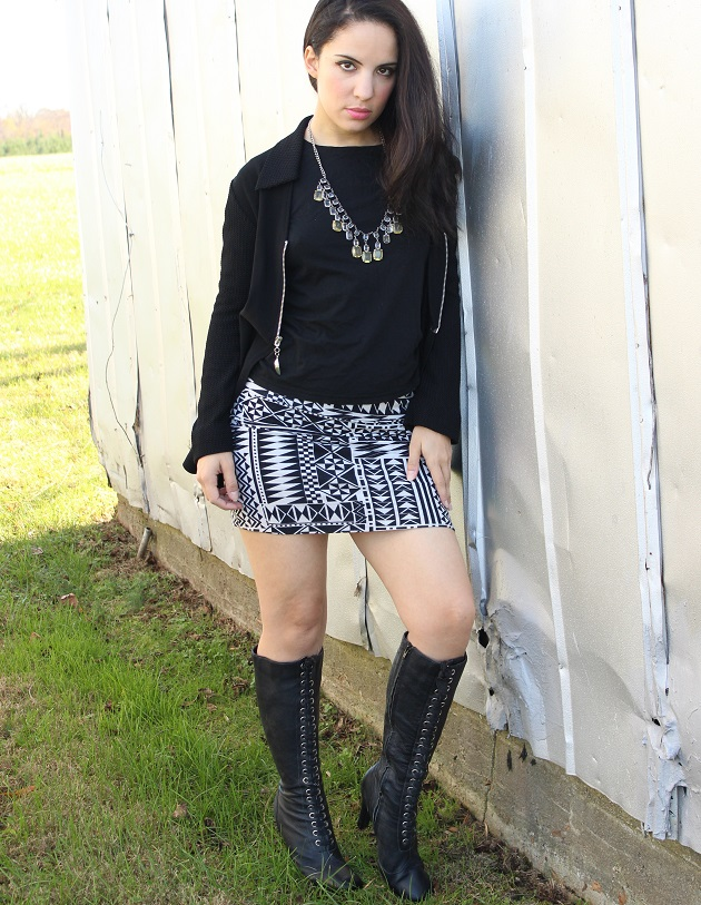 Mind Code Skirt