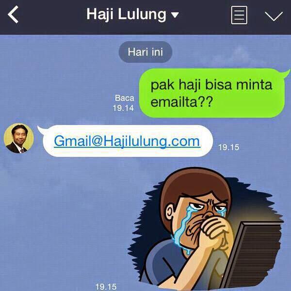 Kumpulan Gambar Meme Lucu Haji Lulung