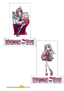 Muñecas de monster high para decorar