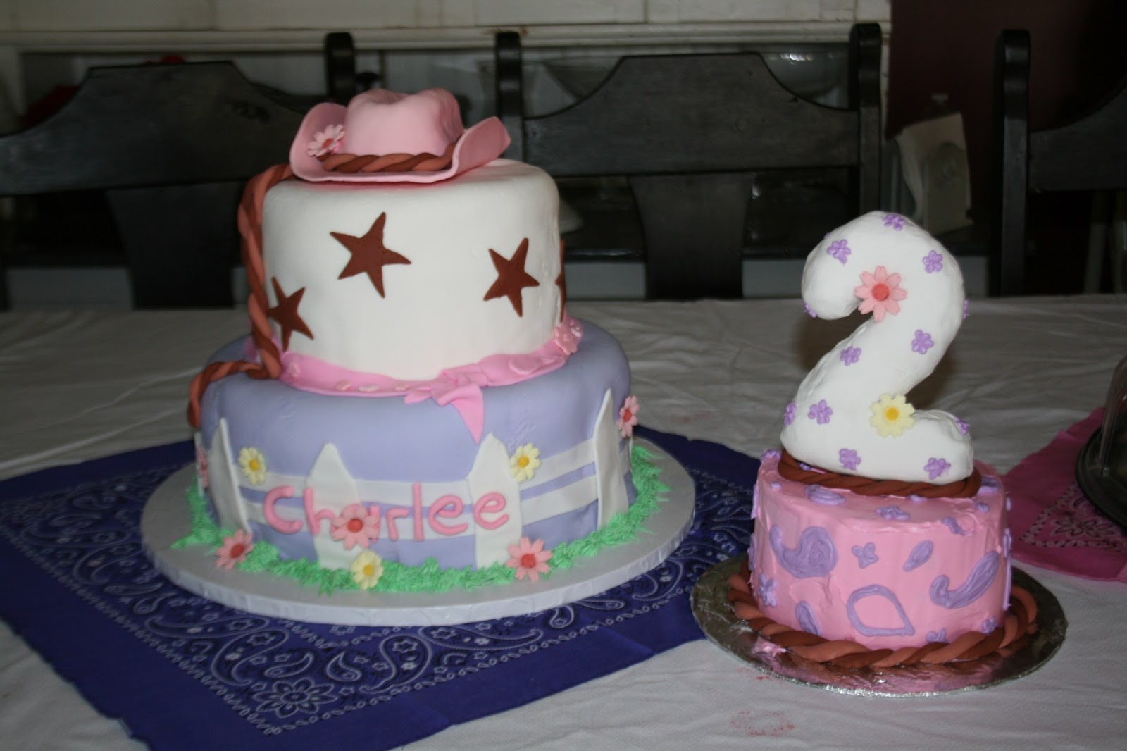 Cakes By Kim 2nd Birthday To A Great Little Cowgirl