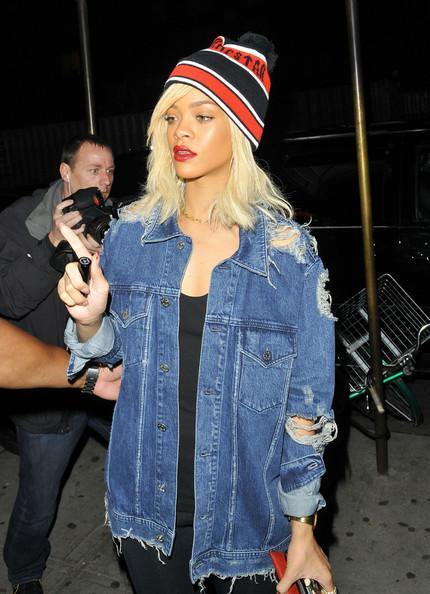 Grunge Mummy Style Icon Rihanna Street Style