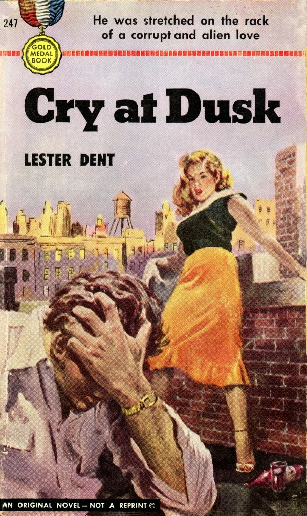 Davy crocketts almanack of mystery adventure and the wild west forgotten books cry at dusk by lester dent 1952 fandeluxe Document