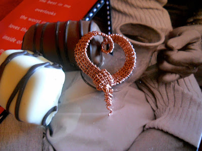 MagPie Approved: Wind Dancer Studios, Woven Ribbon Heart