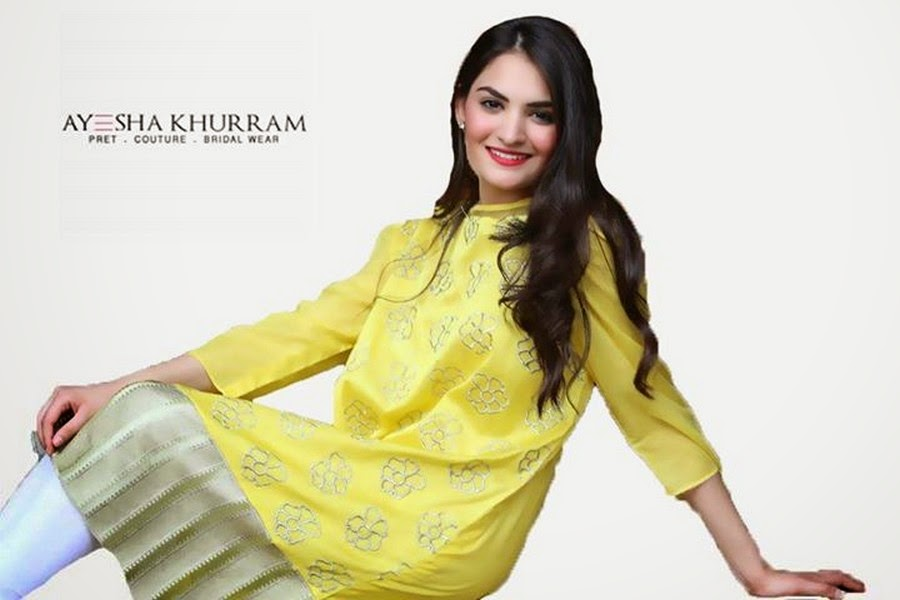 Ayesha Khurram Midsummer Collection 2014