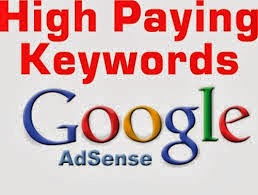 Top 70 High Paying Keywords for Google Adsense (2014)