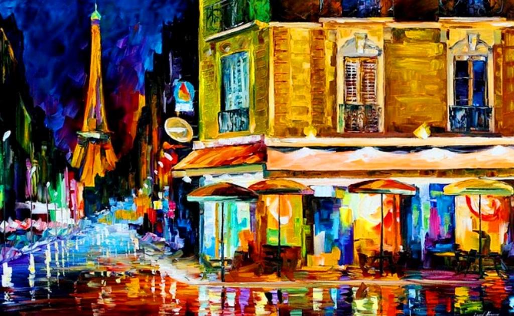 cuadros pintura oleo espatula pintor leonid afremov pinturas espatula