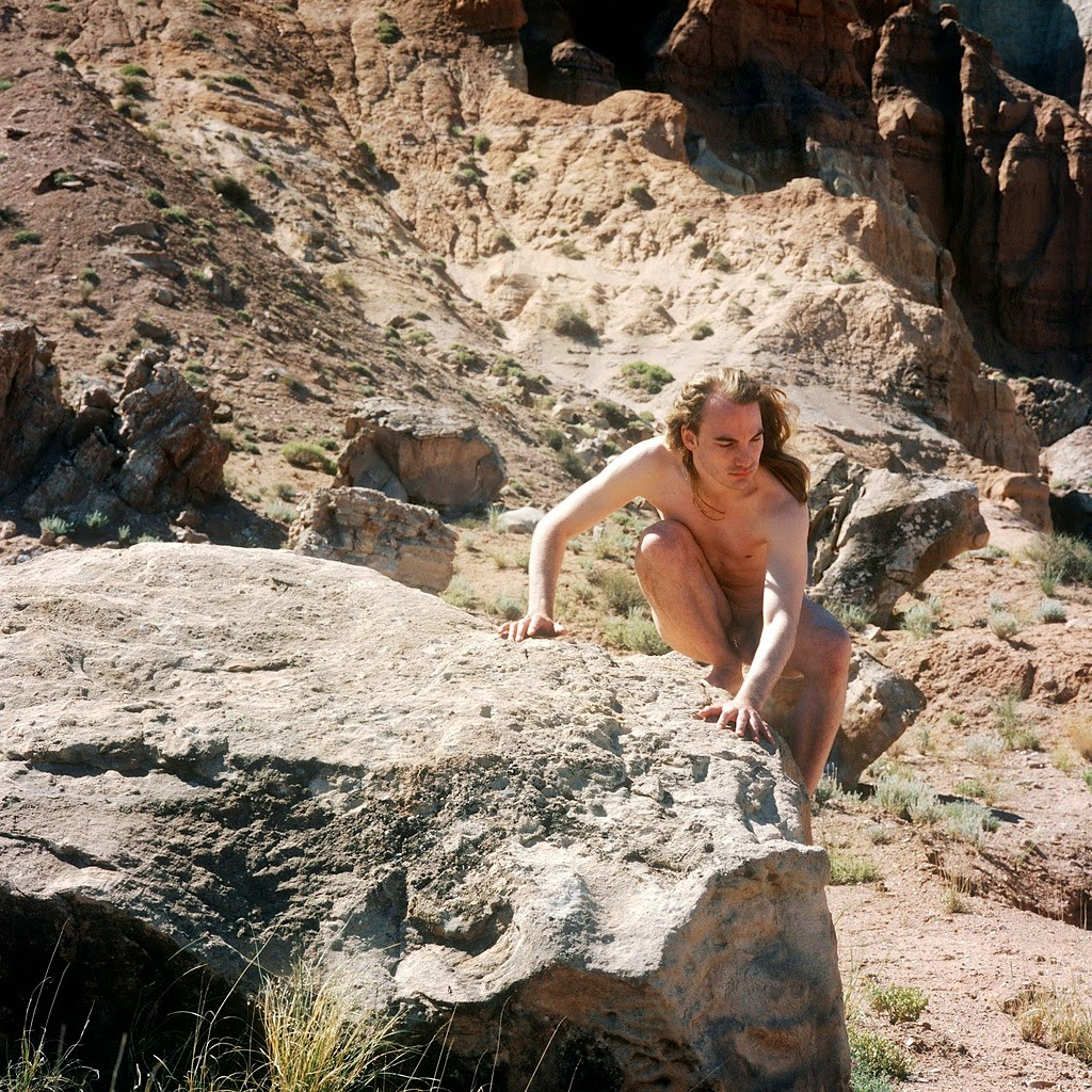 naked nudist sex on the rock