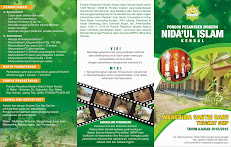 Penerimaan Santri Baru Ponpes Modern Nida'ul Islam Kendal - Jateng Tahun Ajaran 2015/2016